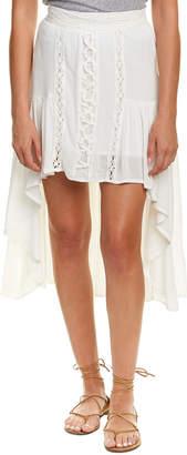 Vintage Havana Lace-Up Maxi Skirt