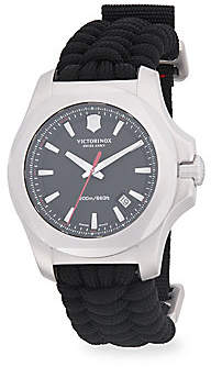 Victorinox Men's Inox Paracord Woven Strap Watch