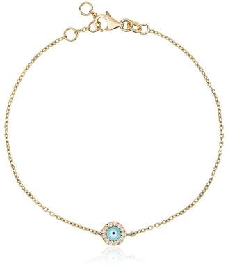 Alemdara 18k yellow gold Handan diamond bracelet