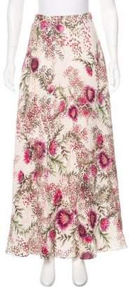 Haute Hippie Printed Maxi Skirt