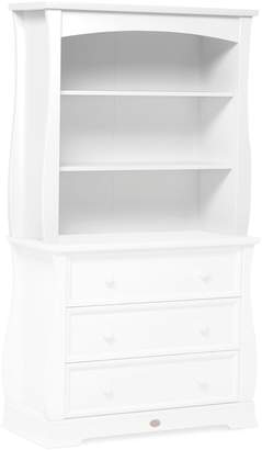 House of Fraser Boori Sleigh Bookcase Hutch White