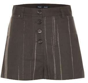 Proenza Schouler Printed cotton shorts