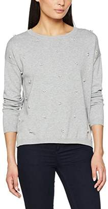 Tom Tailor Women's Embellished Sweater Jumper,(Manufacturer Size: XX-Large)
