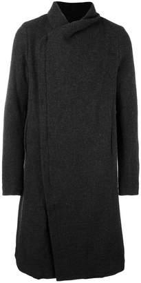 Poème Bohémien off centered zipped coat