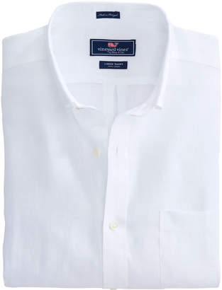 Vineyard Vines Solid Linen Classic Murray Shirt
