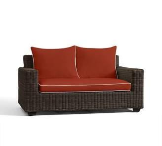 "Pottery Barn Square-Arm 62"" Loveseat Sofa Cushion Slipcover"