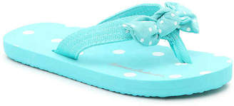 Hanna Andersson Dot Bow Toddler & Youth Flip Flop - Girl's