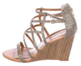 Seychelles Leather Cage Wedges