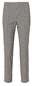 Gingham High Waist Trousers