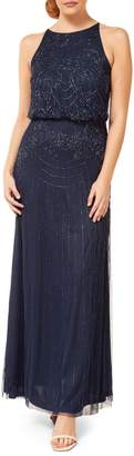 Occasion By Dex Beaded Blouson Gown