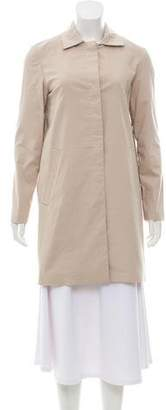 Theory Lightweight Knee-Length Trench Coat w/ Tags