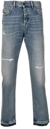 Diesel Black Gold cropped slim jeans