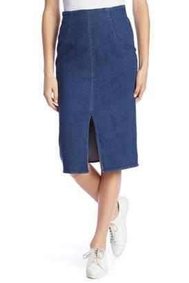 J.Crew J. Crew Minimalist Pencil Denim Skirt