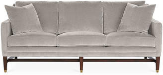 Michael Thomas Collection Arden Sofa - Gray Velvet