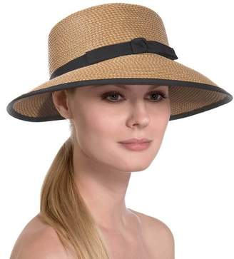 Eric Javits Luxury Fashion Designer Women's Hat - Squishee Cap