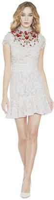 Alice + Olivia Myrtis Flutter Sleeve Dress