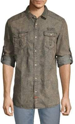 Buffalo David Bitton Saelori Denim Shirt