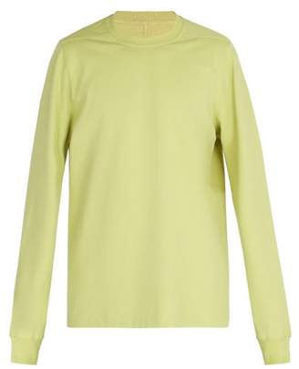 Rick Owens Crew Neck Sweatshirt - Mens - Yellow