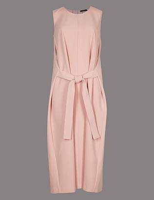 Marks and Spencer Tie Front Tunic Midi Dress