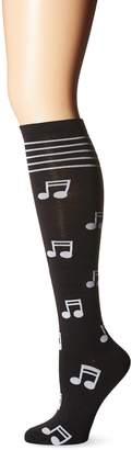 K. Bell Socks Women's Single Pack Novelty Knee High Socks