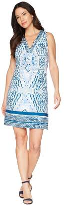 Hale Bob Feel The Heat Matte Microfiber Dress Women's Dress