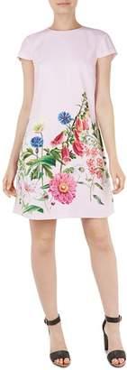 Ted Baker Gemmma Florence Floral Print Swing Dress