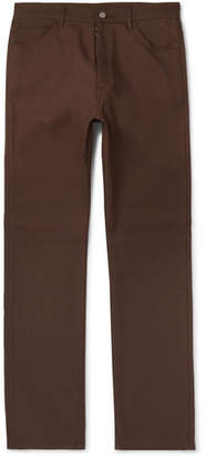 Maison Margiela Slim-fit Gabardine Trousers