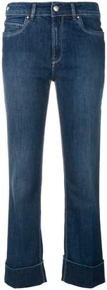 Fay cropped stonewashed jeans