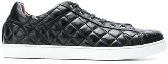 Gianvito Rossi quilted lace-up sneakers
