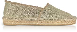 Castaner Kito Golden Canvas Espadrillas