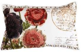 Marlo Lorenz Thro By Harvest Brinley Floral Printed Pillow