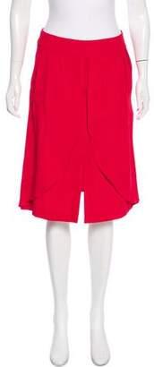 Reiss Layered Knee-Length Skirt w/ Tags