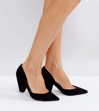 Asos Design SULPHUR Wide Fit Pointed Heels
