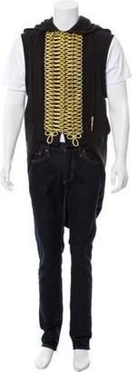 Jeremy Scott x Adidas Metallic Sleeveless Hoodie