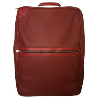Louis Vuitton Red Leather Travel bag