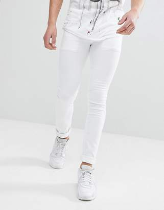 Religion Skinny Fit Jeans In White