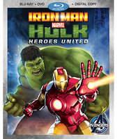 Disney Iron Man and Hulk: Heroes United Blu-ray 2-Disc Combo Pack