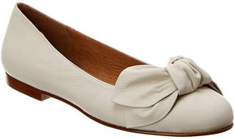 French Sole Paradise Leather Flat