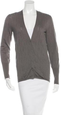 Balenciaga Balenciaga Wool V-Neck Sweater