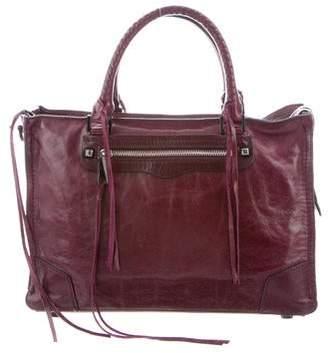 Rebecca Minkoff Distressed Leather Satchel
