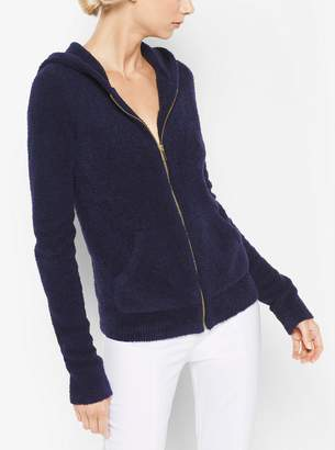 Michael Kors Cashmere and Silk Terry Hoodie