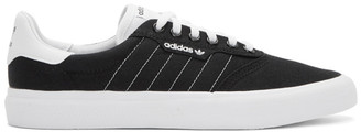 adidas Black and White 3MC Sneakers