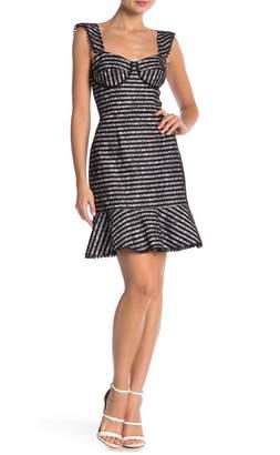 ABS by Allen Schwartz Amelia Lace Bustier Dress