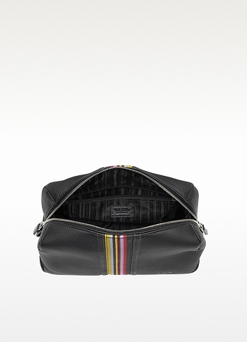 Paul Smith Black Ebury Travel Case