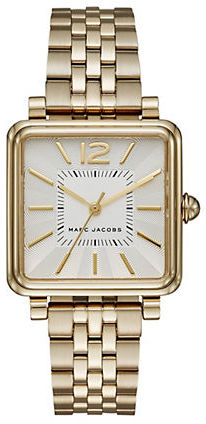 Marc Jacobs Marc Jacobs Goldtone Stainless Steel Watch