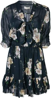 Nicholas floral print mini dress