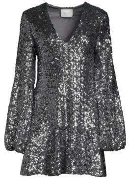 Alexis Renada Sequined Cocktail Dress