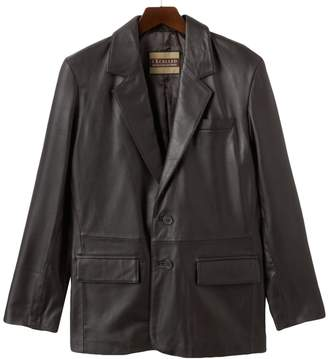 Men's Excelled Leather Blazer Jacket