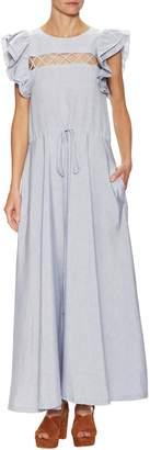 Jill Stuart Women's Tiered Crewneck Dress