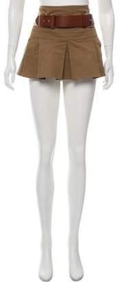 Burberry Mini Pleated Skirt